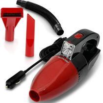 Aspirador de Pó Automotivo 12V Multilaser Vermelho - AU607 -