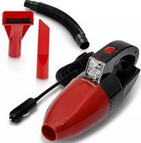 Aspirador de Pó Automotivo Funcao Solido e Liquido Com Mangueira 1500PA Vermelho Multilaser 12v 60w -