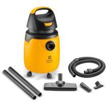Aspirador de Pó e Água Profissional 1300W Electrolux 20L com Alcance Total de 7,7m GT30N Amarelo e Preto 127V -