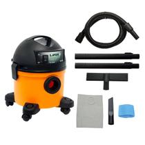 Aspirador De Pó E Liquido Lavor Compact 12 LT LR 1250W Portátil -