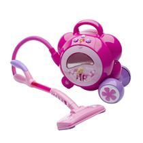 Aspirador de Pó Mágico da Barbie com efeitos de Som e Luz RPB530 -