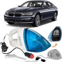 Aspirador De Pó Portátil 12v Novo Limpa Carro BMW 740I - Automotivo
