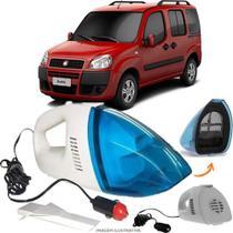 Aspirador De Pó Portátil 12v Novo Limpa Carro Fiat Doblo - Automotivo