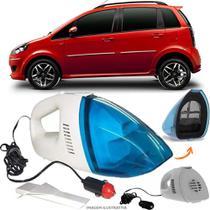 Aspirador De Pó Portátil 12v Novo Limpa Carro Fiat Idea - Automotivo