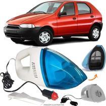 Aspirador De Pó Portátil 12v Novo Limpa Carro Fiat Palio 2001 - 2003 - Automotivo