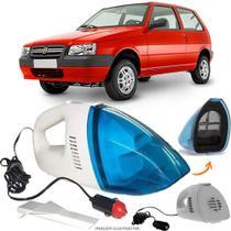 Aspirador De Pó Portátil 12v Novo Limpa Carro Fiat Uno 2004 - 2010 - Automotivo