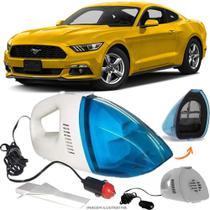Aspirador De Pó Portátil 12v Novo Limpa Carro Ford Mustang - Automotivo