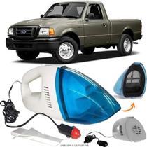 Aspirador De Pó Portátil 12v Novo Limpa Carro Ford Ranger Antiga - Automotivo