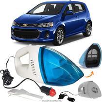 Aspirador De Pó Portátil 12v Novo Limpa Carro GM Sonic Hatch - Automotivo