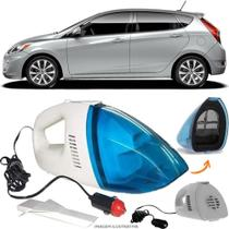 Aspirador De Pó Portátil 12v Novo Limpa Carro Hyundai Accent - Automotivo