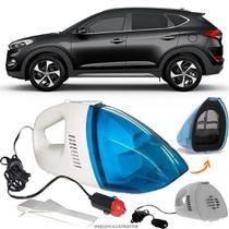 Aspirador De Pó Portátil 12v Novo Limpa Carro Hyundai Santa Fé - Automotivo