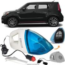 Aspirador De Pó Portátil 12v Novo Limpa Carro Kia Motors Grand Soul - Automotivo
