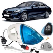 Aspirador De Pó Portátil 12v Novo Limpa Carro Mercedes Benz C200 - Automotivo
