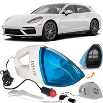 Aspirador De Pó Portátil 12v Novo Limpa Carro Porsche Panamera Turbo - Automotivo