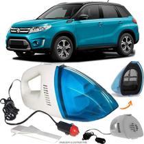 Aspirador De Pó Portátil 12v Novo Limpa Carro Suzuki Vitara - Automotivo