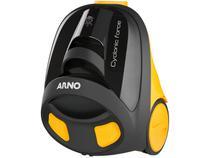 Aspirador de Pó Portátil Arno 1400W  - com Filtro HEPA Cyclonic Force Amarelo e Preto