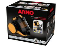 Aspirador de Pó Portátil Arno 1400W  - com Filtro HEPA Cyclonic Force XL Amerelo e Preto