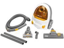 Aspirador de Pó Portátil Wap 1600W - Ambiance Turbo Bagless Branco e Amarelo