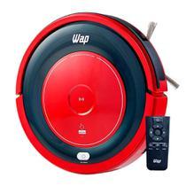 Aspirador de pó robô bivolt vermelho wap robot w300 fw006247 -