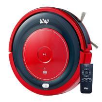 Aspirador de Pó Wap Robo Wap W300 14,4V Vermelho Bivolt -