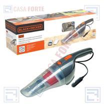 Aspirador p/ Automóveis 12v  Potência 12,5aw 370ml - Black Decker -