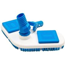 Aspirador Plástico Para Piscina Asa Delta Com Escova - Sodramar -