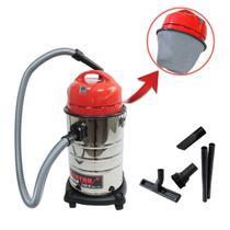 Aspirador pó e água inox schulz elektro 20 litros -