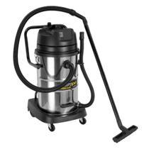 Aspirador Pó e Líquidos Hidropó 1200W 220v 50 litros Inox - Schulz -