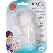 Aspirador Sugador Nasal Limpeza Nariz Bebê Infantil Crianças - Sana Babies