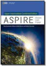 Aspire - Upper-intermediate - PACK REVISED - Student Book + Workbook + DVD - Cengage -