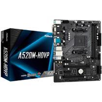ASRock A520M-HDVP - (AM4 - DDR4 4600 OC) - Chipset AMD A520 - USB 3.2 -