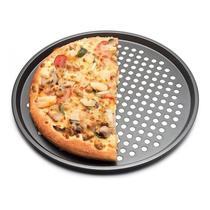 Assadeira Pizza Furada Forma Furadinha Teflon Antiaderente 35cm - Penselarfun