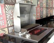 Assador Grill SEM FUMAÇA De Embutir A Gás Com Tampa - Titan