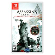 Assassin's Creed 3 III Remastered - Switch - Ubisoft
