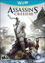 Assassin's Creed III Creed 3 - Wii U - Ubisoft