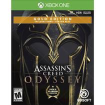 Assassin's Creed Odyssey Gold SteelBook Edição Xbox One-UBP50422175 - Ubisoft