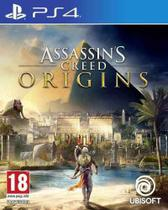 Assassin's Creed Origins Ps4 Midia Fisica - Sony