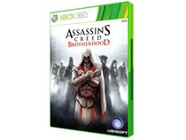 Assassins Creed Brotherhood para Xbox 360 - Ubisoft