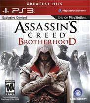 Assassins Creed Brotherhood Ps3 Midia Fisica -