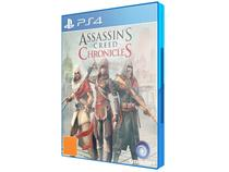 Assassins Creed - Chronicles Tri Cpt para PS4 - Ubisoft