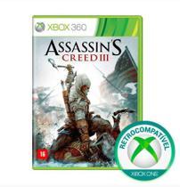Assassins Creed III 3 - Xbox 360 / Xbox One - Ubisoft