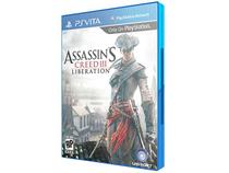 Assassins Creed III: Liberation p/ PS Vita - Ubisoft