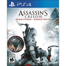 Assassins Creed III: Remastered - PS4 - Sony