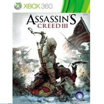 Assassins Creed III - XBOX 360 - Ubisoft