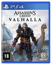 Assassins Creed Valhalla - PS4 Mídia Física - Ubisoft