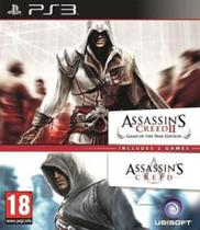 Assasssin's Creed 1 & 2 Compilation - PS3 - Sony