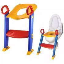 Assento Com Redutor Escada Trono Infantil Vaso Sanitário Para Menina ou Menino - Importway
