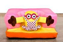 Assento De Bebê Sofazinho - Cadeirinha Estofada com Personagens - Barros Baby -