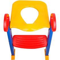 Assento De Vaso Sanitário Infantil Tampa E Escada Dican -