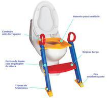 Assento Infantil Para Vaso Sanitário Com Escada Para Criança - Magazine rm